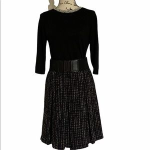 Evan Picone pleated skirt size 12